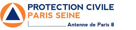 Protection Civile de Paris 8 Logo